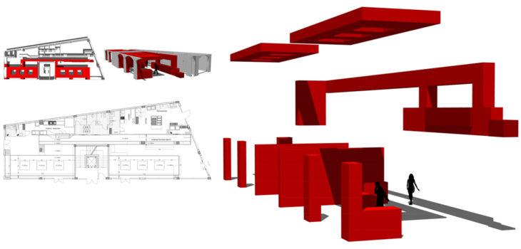 Progetto Architettura d'Interni Locale di somministrazione in Loc. Galboneddu